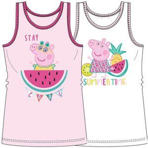 2er Pack Peppa Pig Unterhemden für Mädchen  98/104