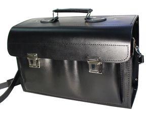 Werkzeugkoffer Echt Leder Werkzeugtasche 12 Modelle für jeden Beruf Lehrertasche 43 x 18 x 27 KN43