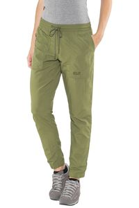 Jack Wolfskin Kalahari Cuffed Pants Damen woodland green Größe L