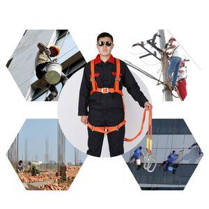 2M lang Sicherheit Gurt Absturzsicherung stark, haltbar Safety Harness Auffanggurt Einstellbar für die meisten Menschen
