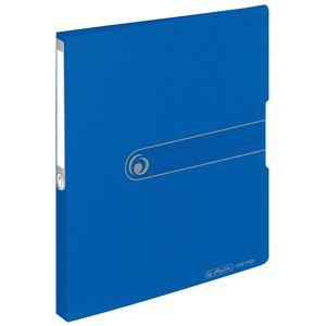 Herlitz Ringbuch easy orga to go A4 2-Ring Rückenbreite: 27 mm blau opak