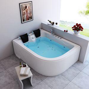 Indoor Whirlpool BLUE OCEAN - XL 180 x 120 cm Rechts