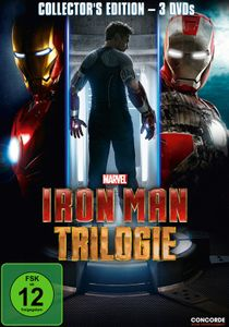 Iron Man - Trilogie  [3 DVDs] - DVD Boxen