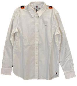 TOMMY HILFIGER Cleo Langarm-Hemd legeres Damen Blusen-Hemd Weiß, Größe:34