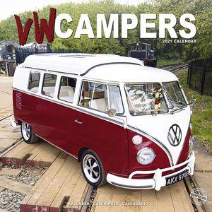 VW Campers 2021 Wall Calendar