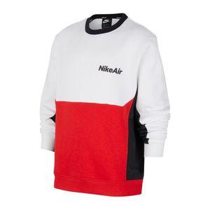 Nike B Nsw Nike Air Ls Crew White/University Red/Black L