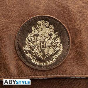 ABYstyle - Harry Potter - Premium Schultertasche - Hogwarts (35 x 5 x 27 cm)