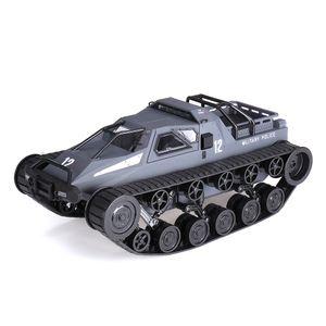 SG 1203 1/12 2.4G Drift RC Tankwagen Hochgeschwindigkeits-Vollproportional-Kontrollfahrzeugmodelle - Schwarz