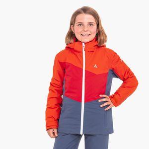 Schöffel  Jacket Brescia3, Größe:176, Farbe:tangerine tango
