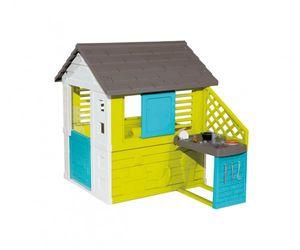 Smoby Spielhaus / Kinderspielhaus Pretty Haus mit Sommerküche
