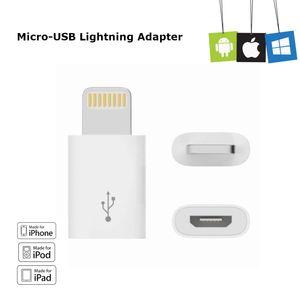Lightning Adapter Stecker auf Micro USB Buchse weiss Lightning Stecker fr Apple