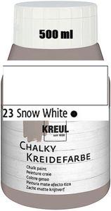 KREUL Chalky Kreidefarbe Snow White 500ml