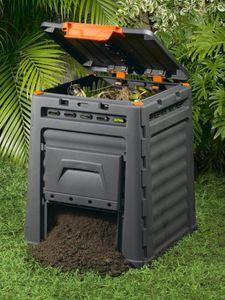 KETER ECO Komposter 320L, schwarz 17181157