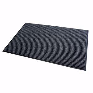 acerto® - Schmutzfangmatte grau 80x120cm Fußmatte Türmatte Sauberlaufmatte