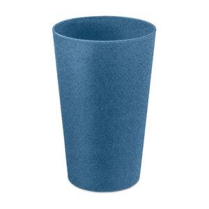 Koziol Zahnputzbecher Rio, Mundbecher, Spülbecher, Becher, Thermoplastischer Kunststoff, Organic Deep Blue, 300 ml, 5828675