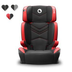Lionelo Hugo Kindersitz Autokindersitz Autositz 15-36kg ISOFIX Sitzerhöhung Rot