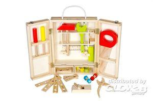 Glow2B Spielwaren Werkzeugkoffer 25-teilig
