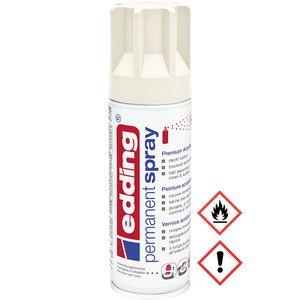 Edding Permanent Spray Premium Acryllack in cremeweiß matt 200ml