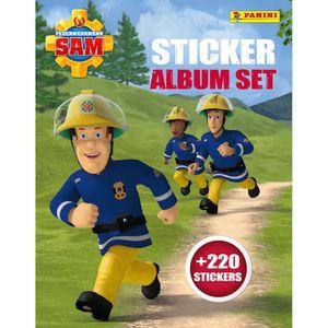 Feuerwehrmann Sam Sticker Album Set