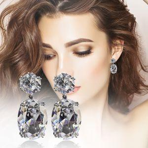 Mode exquisite Eisblume Damen Ohrringe Sch?ne kreative Ohrschmuck