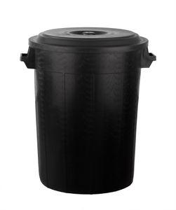 Universaltonne 100 Liter mit Deckel 2 Tragegriffe Kunststoff