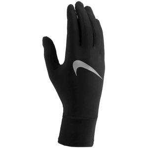 Nike Womens Lightweight Laufhandschuhe 082 black/black/silver L