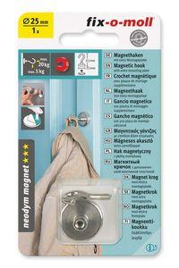 Magnet-Haken Neodym 25 mm fix-o-moll