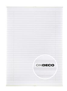 Plissee Klemmfix für Tür und Fenster Sonderposten Farbe: Weiß, Größe: 80x210 cm