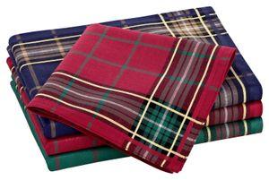 Tobeni 12 Stück Herren Stoff Taschentücher Herrentaschentücher Stofftaschentücher 100% Baumwolle-Satin, Farbe:Design 38, Grösse:41 cm x 41 cm