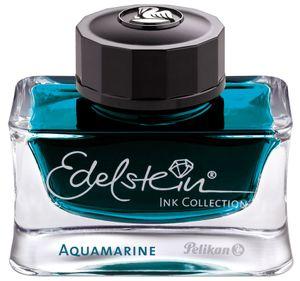 "Pelikan Tinte ""Edelstein Ink Aquamarine"" Inhalt: 50 ml im Glas"