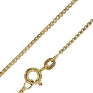 trendor 71750 Goldkette 333 Gold Venezianer Kette für Damen und Herren 0,9 mm, 45 cm