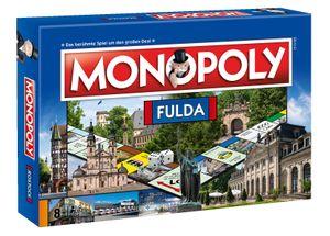 Monopoly Fulda City Edition Stadtedition Spiel Gesellschaftsspiel Brettspiel