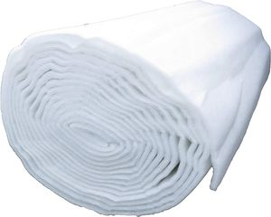 Volumenvlies, 300g/m² 1,5 m breit 0,85 m lang ca. 30 mm dick, 1,28 m², 100% Polyester