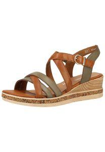Remonte Damen Sandalette in Grün, Größe 38