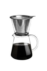 Kaffeekanne Life Style mit Dauer Edelstahlfilter Kaffeezubereiter