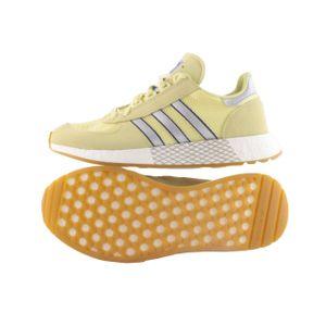 Adidas Originals Marathon Tech Herren Schuhe Leder Sneaker Freizeitschuh EE5629 Gelb UK 8,5 42 2/3