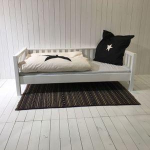 ROOMSTAR Tagesbett ohne Bettschublade, weiss, umbaubar, skandinavisches Design, 90x200cm