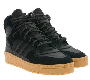 adidas Originals High Top Sneaker modische Basketball-Schuhe für Damen und Herren Rivalry TR Schwarz, Größe:38