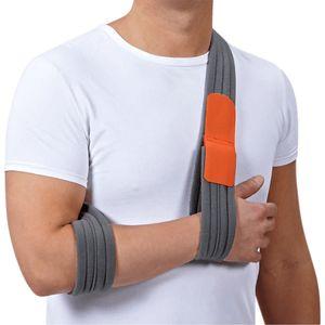 Matchu Sports armschlinge mitella - Grau - 5cm - Weiches Textil