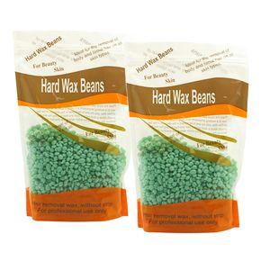 200g Wachs Haarentfernung Hard Wax Beans Wachsbohnen Heißer Film Wachsen, Natürliche Inhaltsstoffe