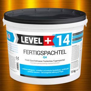 15kg Spachtel Masse Finish Fertig Q4 Glätt Flächen Trockenbau Fertigspachtel RM14