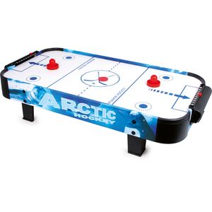 Small Foot 9878 Air-Hockey Tischspiel für 2 Personen, mehrfarbig (1 Stück)