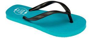 Waimea Kinder Zehentrenner Badeschuhe Aqua/Schwarz Schuhe, Größe:30