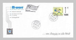 FDC mit 28-Cent Briefmarke 'Chinesin', 2015, ungel. M-ware® ID15674