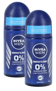 Nivea Men Deo Roll-On Protect & Care (2 x 50 ml)