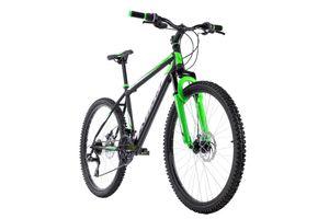 Mountainbike Hardtail 26'' Xtinct schwarz-grün RH 42 cm KS Cycling