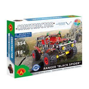 Geländewagen Black Spider (354 Teile) - Metallbausatz