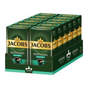 JACOBS Krönung Balance Filterkaffee 12 x 500 g gemahlener Röstkaffee
