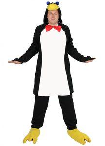 Pinguin Kostüm für Erwachsene Tierkostüm S - XXL, Größe:L