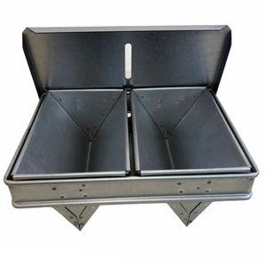 Dreiecks-Brotbackform 2-tlg. mit Deckel